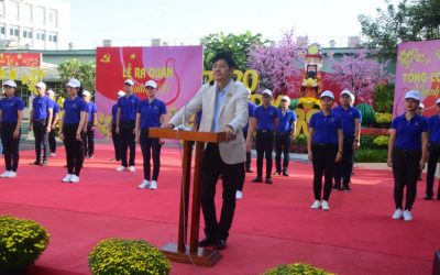 Khanh Viet Corporation organized the ceremony of promoting the business and production in the New Year 2020