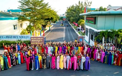 """Trade Union's activities in response to """"Ao dai – Vietnam's Cultural Heritage"""" week and 110th anniversary of International Women's Day on March 8"""