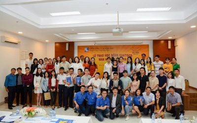 Ceremony of Khatoco scholarship awards for 2017-2018 school year