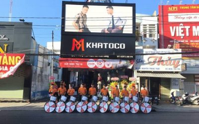 Khatoco opened the 19th showroom in Rach Gia city, Kien Giang province