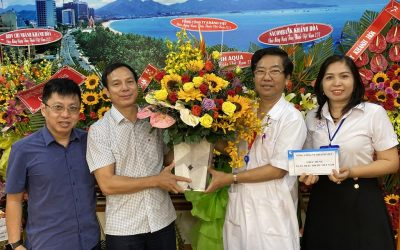 Khanh Viet Corporation paid a greeting visit and offered presents to medical staff on the occasion of Vietnamese Doctors' Day anniversary – February 27