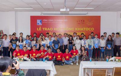 Khatoco scholarship awarding ceremony – school year 2018-2019