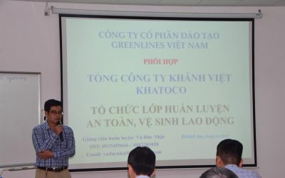 Khatoco organized the training course on occupational safety and health – 2019