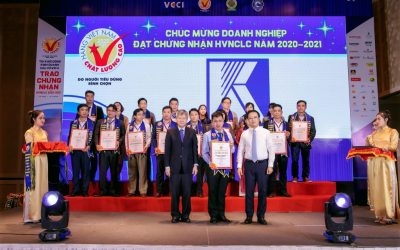 Khanh Viet Corporation (Khatoco) was presented with High Quality Vietnamese Goods 2020 title