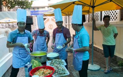 """The contest """"Cooking Together with Our Guys"""" for celebrating the Vietnamese Women's Day"""