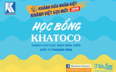 Khatoco Scholarship and Recruitment Program, 2019