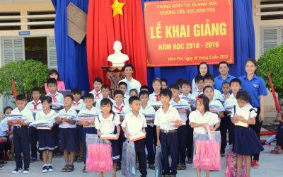 Help the children go to school