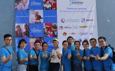Trade Union of Khanh Viet Corporation provided more than 1,750 meals to support the patients who received hearing aid devices