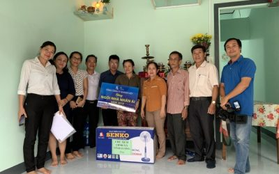 Khanh Viet Corporation offered the house of charity to a poor household in Vinh Luong commune, Nha Trang city, Khanh Hoa province