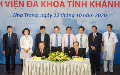 Khatoco donates a digital subtraction angiography system (DSA) worth VND 29 billion to the General Hospital of Khanh Hoa province