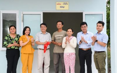 Khanh Viet Corporation builds houses for the poor