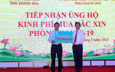 Khatoco donates VND 1 billion to purchase  vaccines against covid-19 pandemic