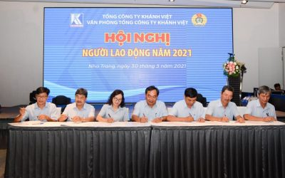 Khanh Viet Corporation's Head Office holds the Employee Conference  2021