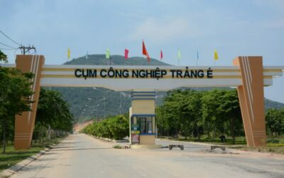 Industrial land for lease in Trang E and Khatoco Ninh Ich industrial clusters, Khanh Hoa province